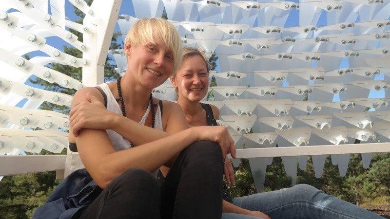 Pia Rousky Sandra Nyberg barefoot path korpo founders