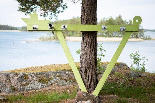 Ann Sundholm Sussu Henrikson barefoot path korpo 2018