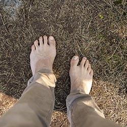 Barefoot path korpo